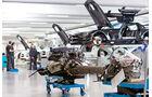 Mercedes SLS AMG GT3, Affalterbach, Werkstatt