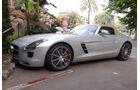 Mercedes SLS Cabrio - GP Monaco 2012