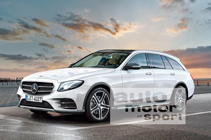 Erlk 246 Nig Mercedes E Klasse All Terrain T Modell Mit Offroad Ambitionen Auto Motor Und Sport