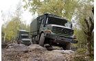 Mercedes Unimog U 5000 und Zetros 4x4 / 6x6