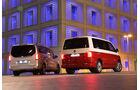Mercedes V 250 d Lang, VW T6 Multivan 2.0 TDI, Heckansicht