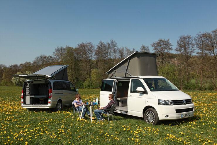 mercedes marco polo und vw california reisemobile im. Black Bedroom Furniture Sets. Home Design Ideas
