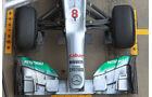 Mercedes W03 Test 2012 F-Schacht