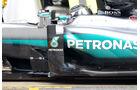 Mercedes W07 Bargeboard - Barcelona F1-Test 2016