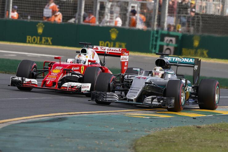 Mercedes vs. Ferrari - Formel 1 - Formcheck - GP Australien 2016