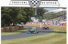 Mercedes vs. Red Bull - Goodwood 2013