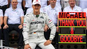 Michael Schumacher Formel 1 GP Brasilien 2012