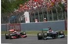 Michael Schumacher GP Spanien 2011