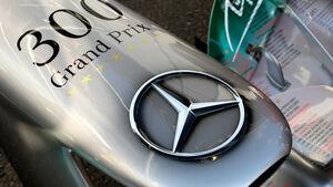 Michael Schumacher - Mercedes - 300 Grand Prix-Feier - Formel 1 - GP Belgien - Spa-Francorchamps - 1. September 2012