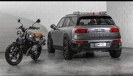 Mini All4 Scrambler, Countryman, SUV, Offroader, Concept