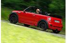 Mini Cooper JCW Cabrio, Seitenansicht