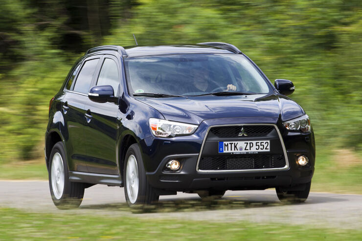 mitsubishi asx im test kompakt suv mit allradantrieb. Black Bedroom Furniture Sets. Home Design Ideas
