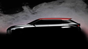 Mitsubishi Ground Tourer Concept Teaser