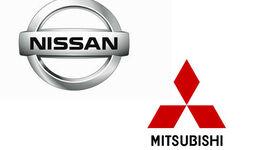 Mitsubishi Nissan Logo