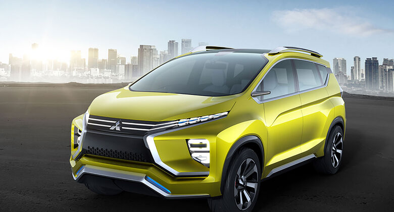 Mitsubishi Small Crossover MPV Concept Car