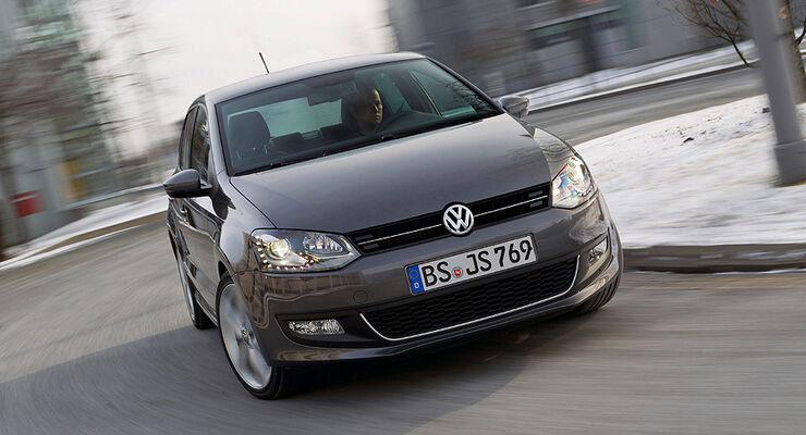 Modularer Querbaukasten, VW Polo