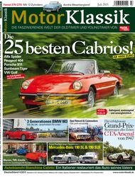Motor Klassik 07/2015 Heftinhalt