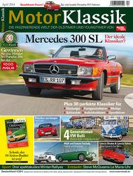 Motor Klassik, Heft-Titel, 04/2014