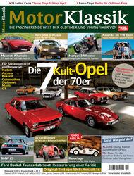 Motor Klassik - Hefttitel, Titel  07/2012