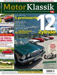 Motor Klassik - Hefttitel, Titel  09/2012