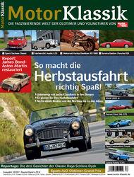 Motor Klassik - Hefttitel, Titel 10/2011