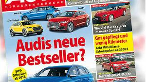 Neues Heft, AUTOStrassenverkehr, Ausgabe 15/2016, Vorschau