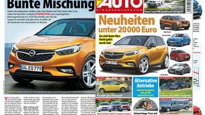 Neues Heft Auto Straßenverkehr 19/2016