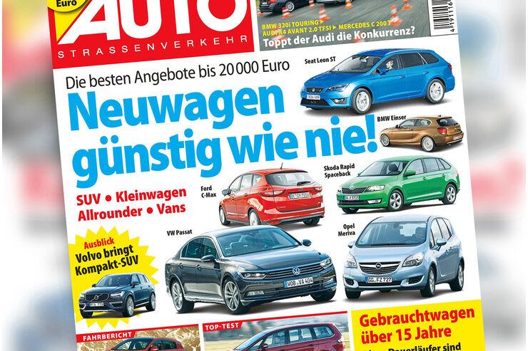 Neues Heft AutoStraßenverkehr, Ausgabe 04/2016, Vorschau