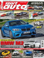 Neues Heft sport auto, Ausgabe 4/2016, Vorschau, Preview
