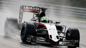 Nico Hülkenberg - Force India - Formel 1 - GP Ungarn - 23. Juli 2016