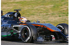 Nico Hülkenberg - Force India - Formel 1-Test - Barcelona - 22. Februar 2015