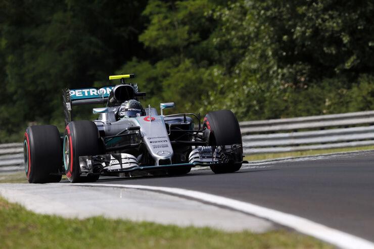 Nico Rosberg - Mercedes - Formel 1 - GP Ungarn - 22. Juli 2016