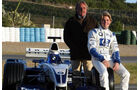 Nico Rosberg Williams Test 2003