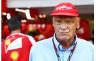 Niki Lauda - Mercedes - Formel 1 - GP Singapur - 21. September 2013