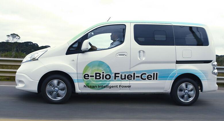 Nissan Bioethanol-Brennstoffzelle