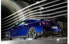 Nissan GT-R, Seitenansicht, Windkanal
