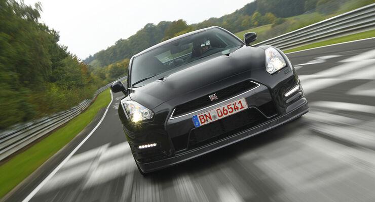 Nissan GT-R auf der Nordschleife