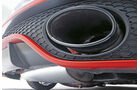 Oettinger-Audi TT RS-R, Auspuff, Endrohr