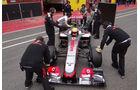 Oliver Turvey - McLaren - Formel 1-Test - Mugello - 3. Mai 2012