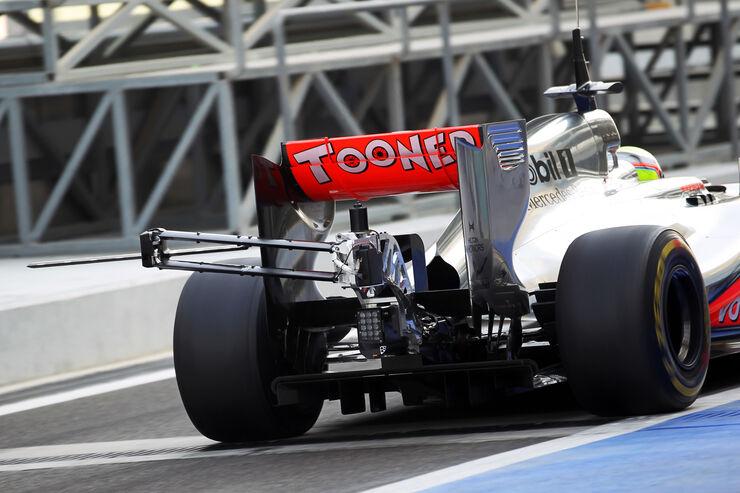 Oliver Turvey - McLaren - Young Driver Test - Abu Dhabi - 8. November 2012