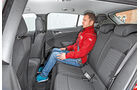 Opel Astra 1.6 CDTI, Fondsitz, Beinfreiheit