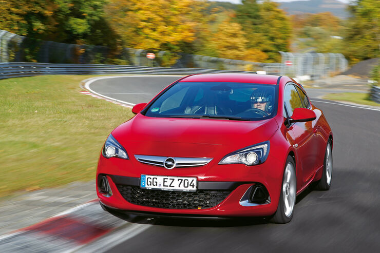 Opel Astra OPC, Frontansicht