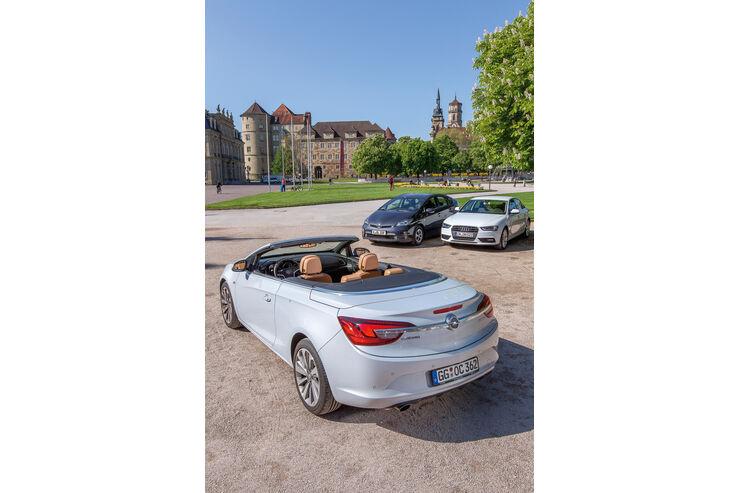 Opel Cascada 1.4 T, Heckansicht