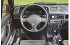 Opel Kadett E 2.0 GSi Cabriolet, Cockpit, Lenkrad