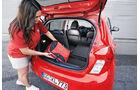 Opel Karl 1.0, Kofferraum