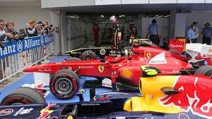 Parc Fermé GP Korea 2011