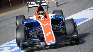 Pascal Wehrlein - Manor Racing - Formel 1-Test - Barcelona - 22. Februar 2016