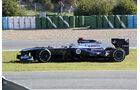 Pastor Maldonado, Williams, Formel 1-Test, Jerez, 5.2.2013