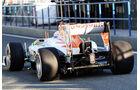 Paul di Resta, Force India, Formel 1-Test, Jerez, 5.2.2013