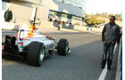 Paul di Resta, Force India, Lewis Hamilton, Mercedes GP, Formel 1-Test, Jerez, 5.2.2013